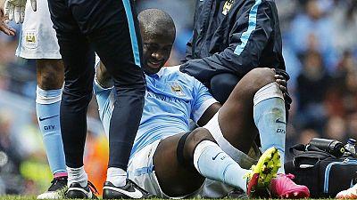 LDC : Yaya Touré, blessé ne jouera pas contre le Real Madrid