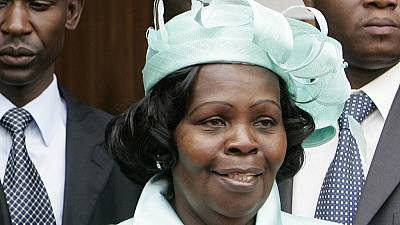 Kenya's former first lady dies in London hospital