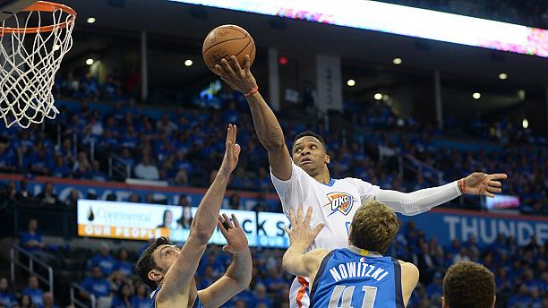 Oklahoma Thunder beat Dallas to reach Western Conference semi-finals