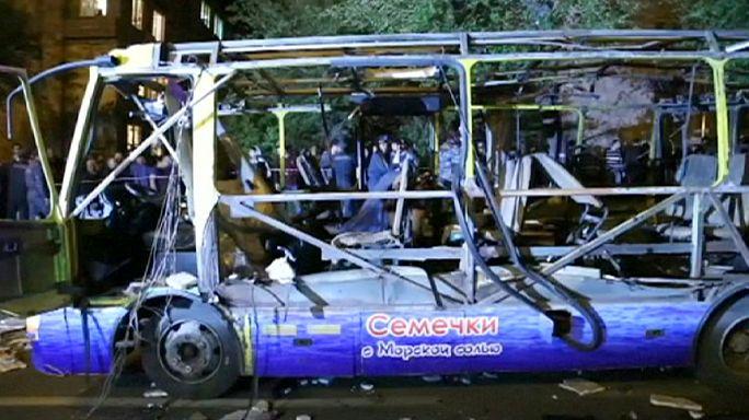 Мужчина подорвал себя в пассажирском автобусе в Ереване