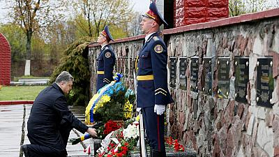 Ukraine commemorates 30th anniversary of Chernobyl disaster