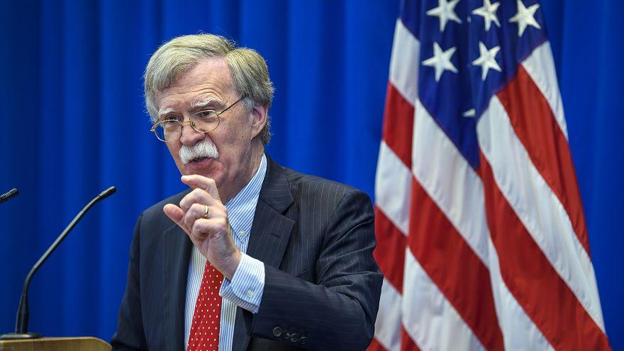 Image: U.S. national security adviser John Bolton.
