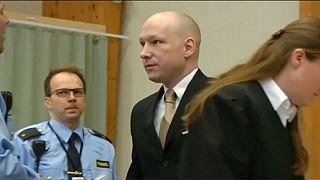 Fellebbez Norvégia a tömeggyilkos őrizetének ügyében