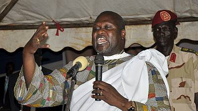 South Sudan rebel leader Riek Macha sworn in as vice-president