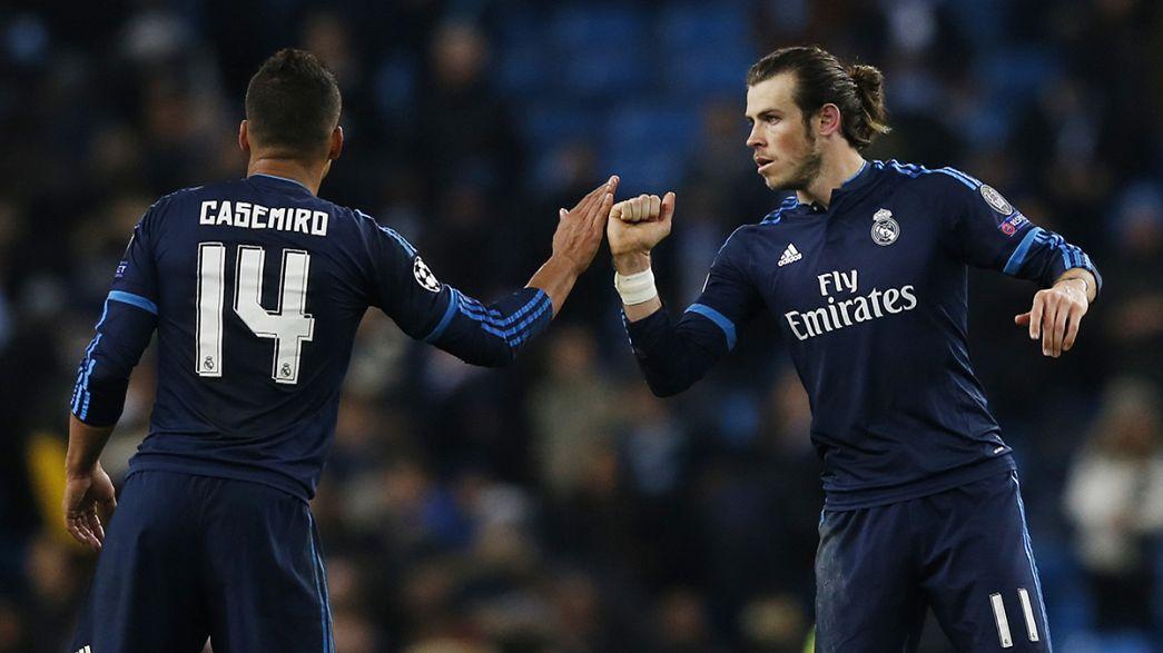 Liga dos Campeões: Manchester City e Real Madrid não passam do zero