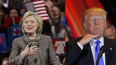 Trump triumphiert - Clinton fast am Ziel