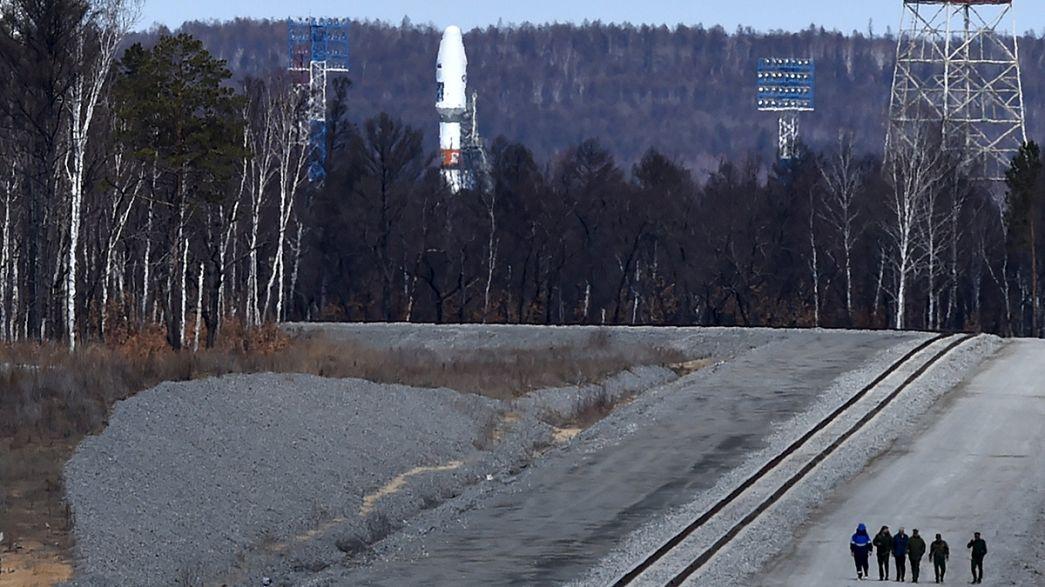 Aplazan el primer lanzamiento desde el nuevo cosmódromo ruso de Vostochni
