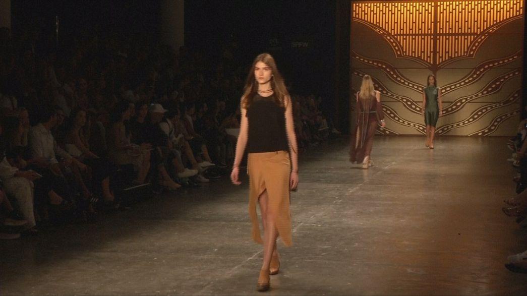 أزياء عملية وعصرية في أسبوع الموضة في ساو باولو