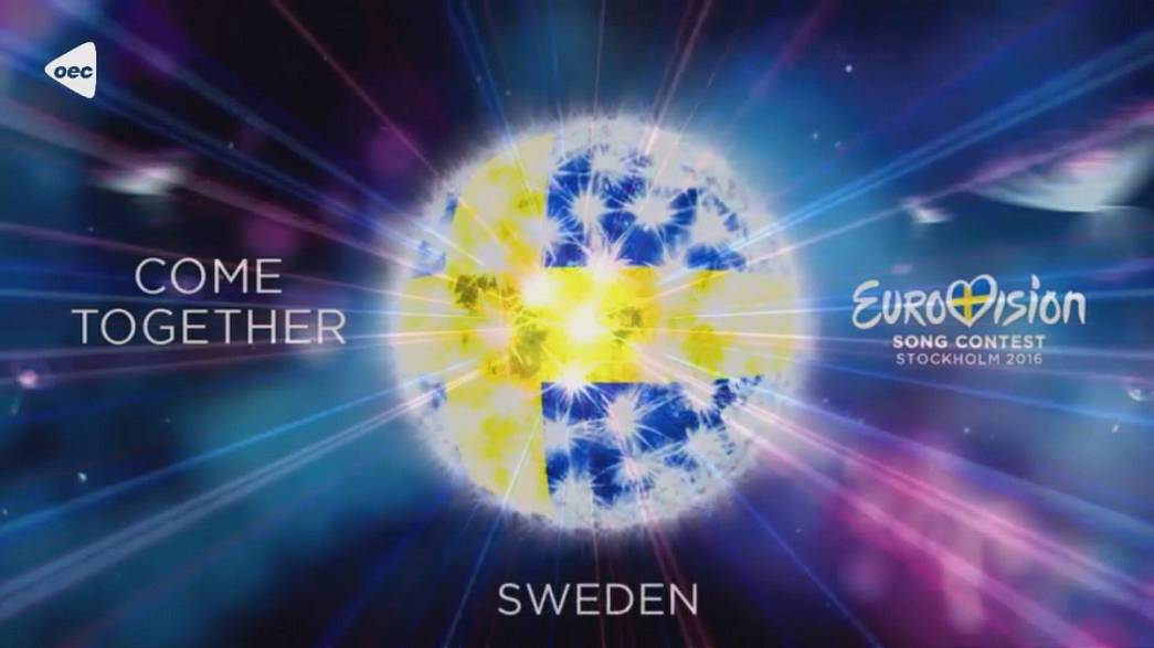 """Come together"", el eslogan del Festival de Eurovisión en Suecia"