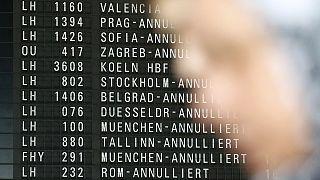 Германия: отмена 900 авиарейсов из-за масштабной забастовки