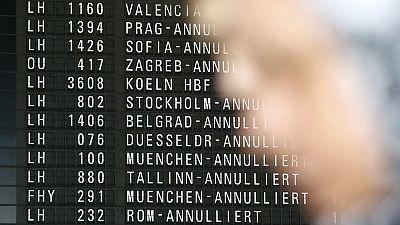 Strike causes major disruption at German airports