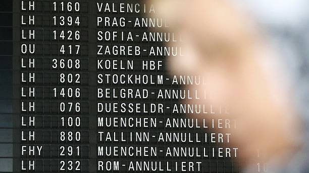 Strike causes major disruption at German airports