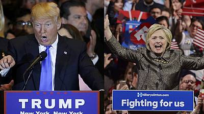 Trump and Clinton edge closer to party nominations
