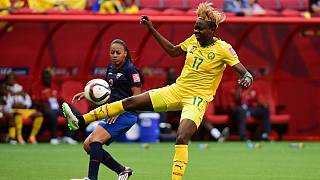 Fastest female goal scorer Enganamouit up for another award