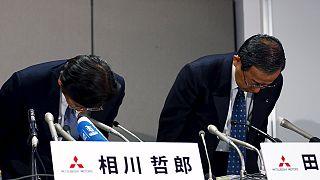 Encomendas da Mitsubishi caem para metade