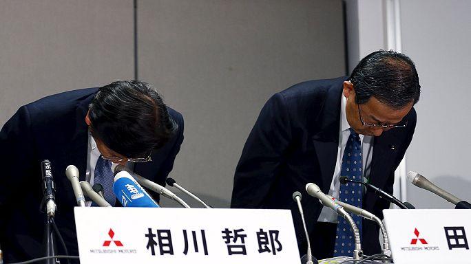 Felére csökkentek a Mitsubishi megrendelései a botrány hatására