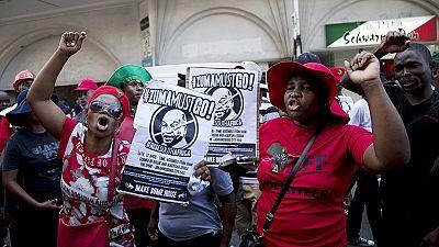 Afrique du Sud : 22 ème anniversaire des premières élections libres sous fond de manifestations contre Zuma