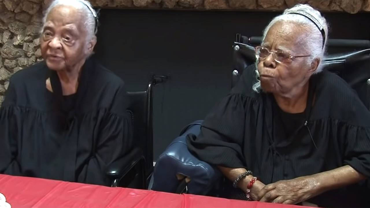 Central Georgia twins celebrate 102 years of life