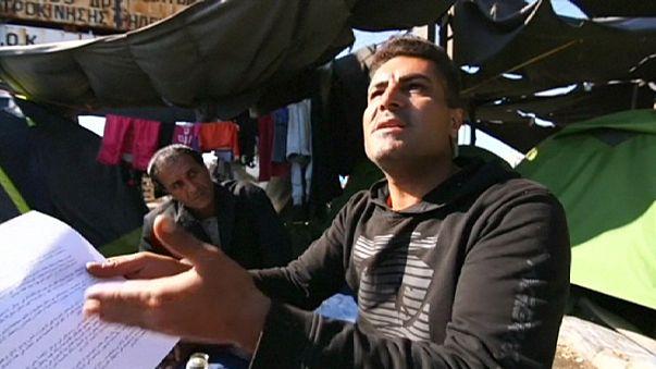 İdomeni kampında barınanlara tahliye çağrısı