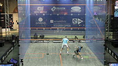 Squash : Grégory Gaultier en forme à El Gouna