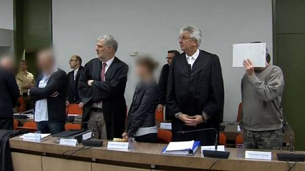 Bíróság előtt a német neonácik