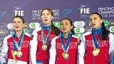 Ruslar eskrimde Dünya Şampiyonu