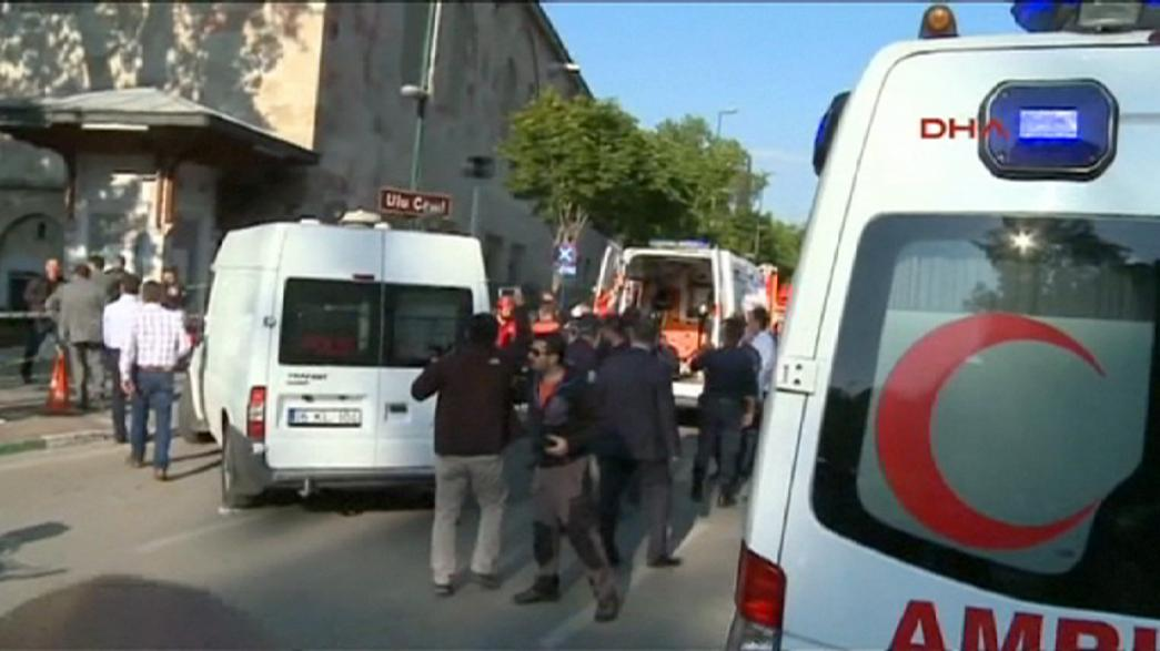 Turkey: female suicide bomber wounds 13 in Bursa