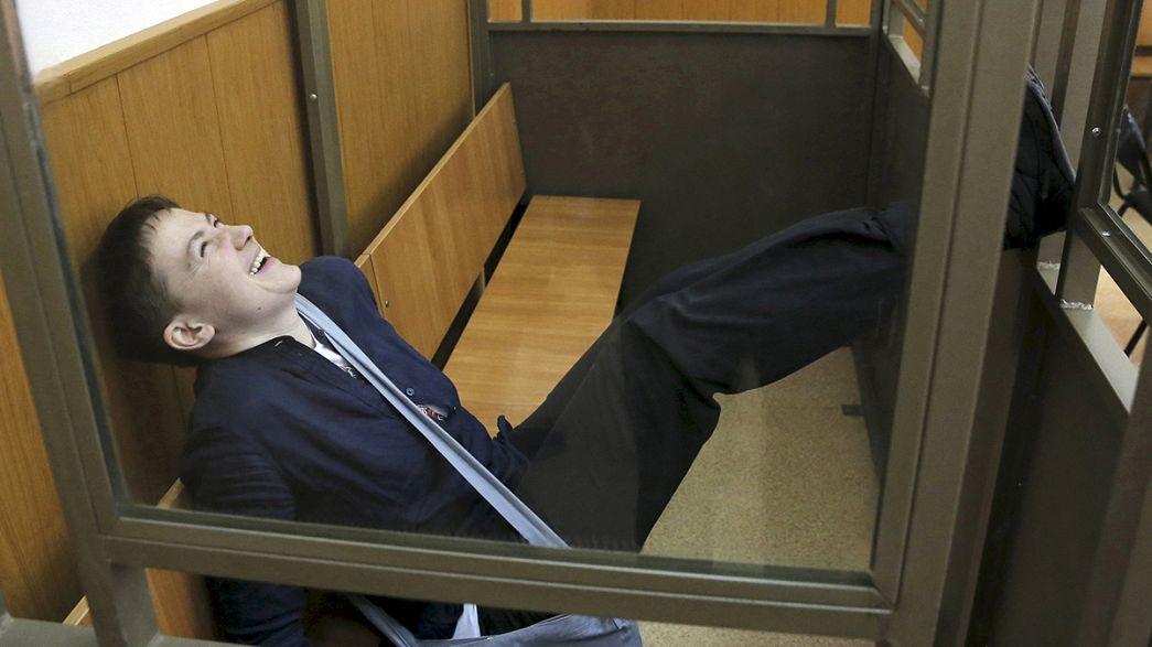 Russland: Auslieferungsverfahren für ukrainische Soldatin Sawtschenko angelaufen