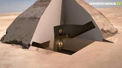 Des pyramides et des muons
