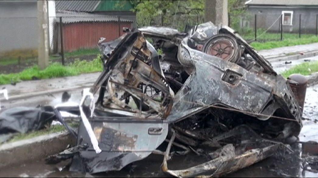 Los rebeldes de Donetsk denuncian un ataque ucraniano premeditado contra civiles en un puesto de control