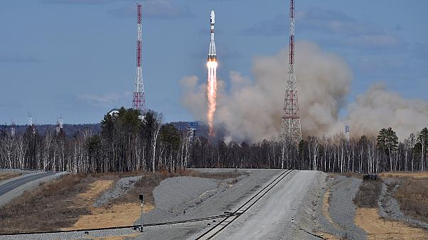 Russia launches first rocket from new cosmodrome