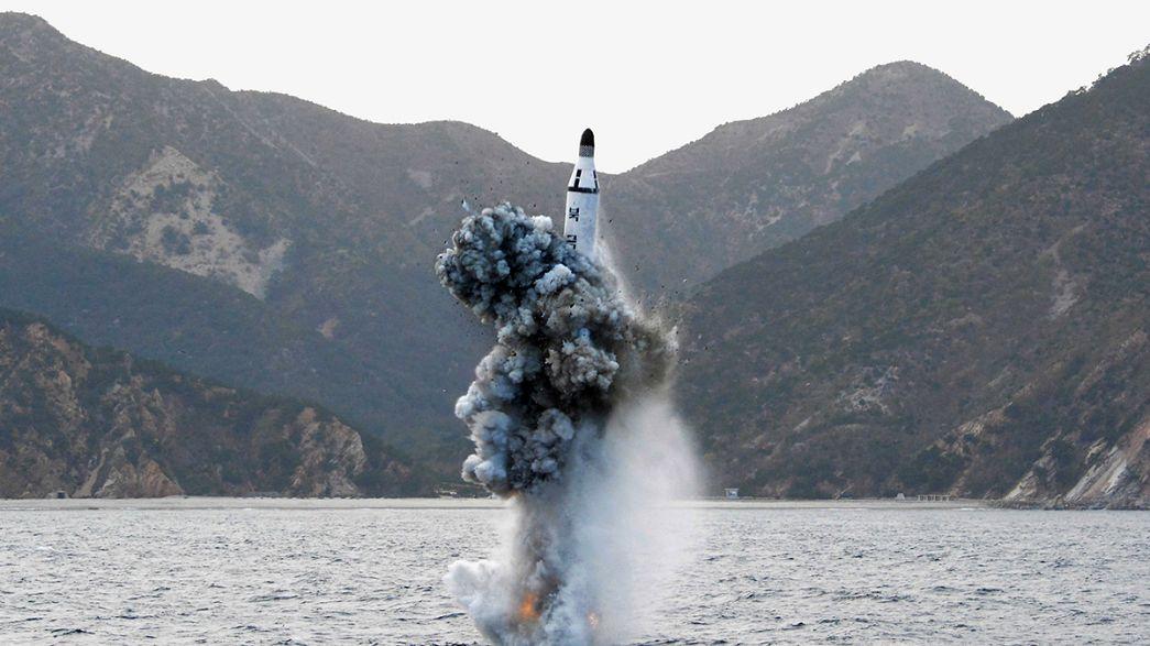 """Nuevo """"gatillazo"""" de un Musudan, uno de los misiles más temibles de Corea del Norte"""