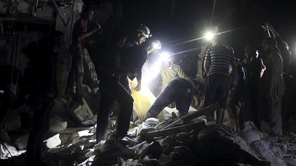 Fatal airstrikes destroy hospital in the Syrian city of Aleppo