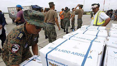 Los países latinoamericanos se vuelcan con Ecuador