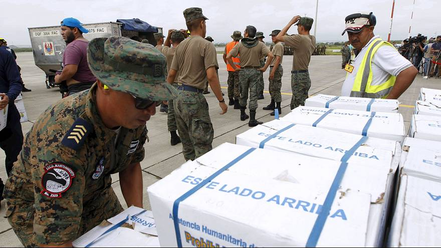 Quake struck Ecuador grateful for solidarity and aid