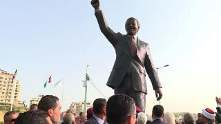 Johannesburg offers huge Nelson Mandela statue to Palestinians