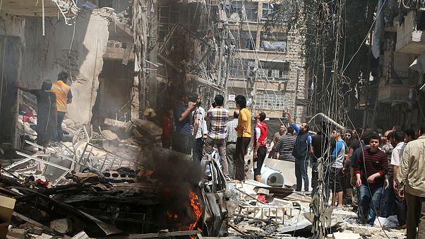 Siria: quasi 200 morti ad Aleppo da venerdì, De Mistura chiede aiuto a Usa e Russia