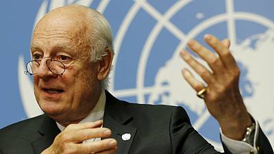 UN envoy to Syria calls on US and Russia to 'save' peace talks