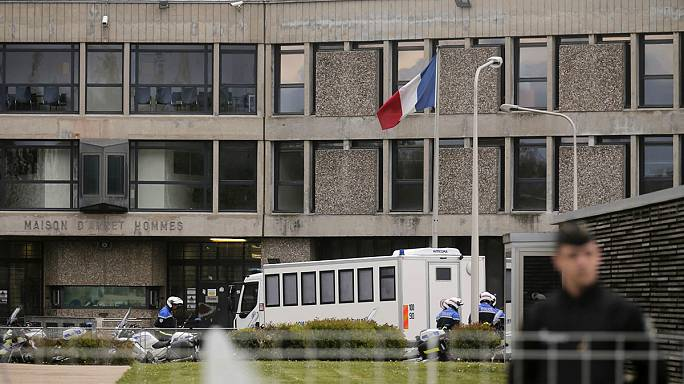 Paris attacks suspect Abdelslam at high-security Paris prison