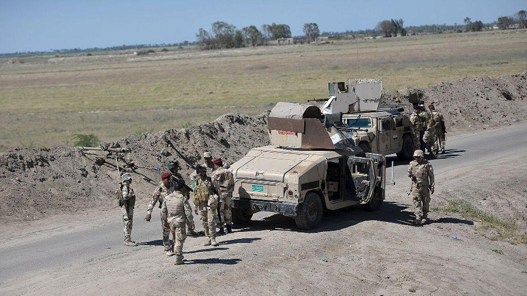 Les forces irakiennes avancent à tous petits pas vers Mossoul