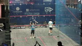 Home hope Mohamed Elshorbagy through to semis of El Gouna International