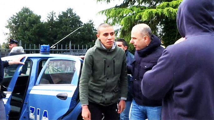 Rómában készültek merényletre a Milánóban lekapcsolt szélsőségesek