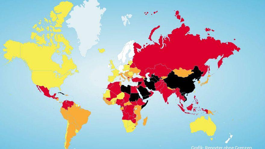 Um die Pressefreiheit in Deutschland steht es schlechter