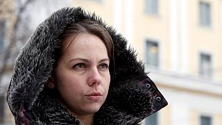 Sister of jailed pilot now back in Ukraine