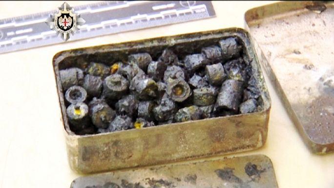 Gürcistan'da kaçak uranyum çetesi yakalandı