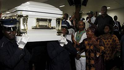 Papa Wemba's body in Kinshasa ahead of Tuesday burial