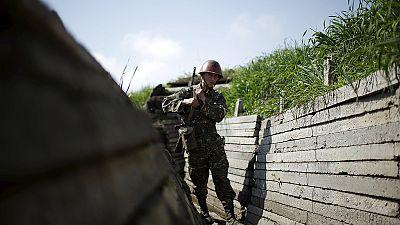 Zwei Zivilisten bei Kämpfen im Südkaukasus getötet