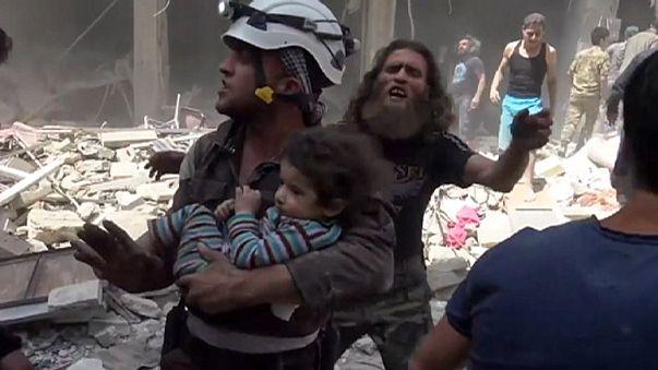 Сирия: новые удары по Алеппо. Десятки жертв