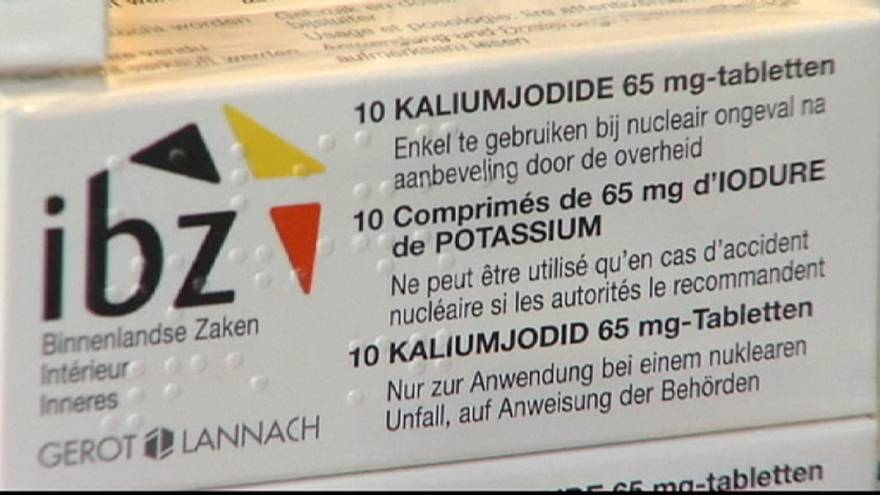 Belgium gives everyone radiation protection pills