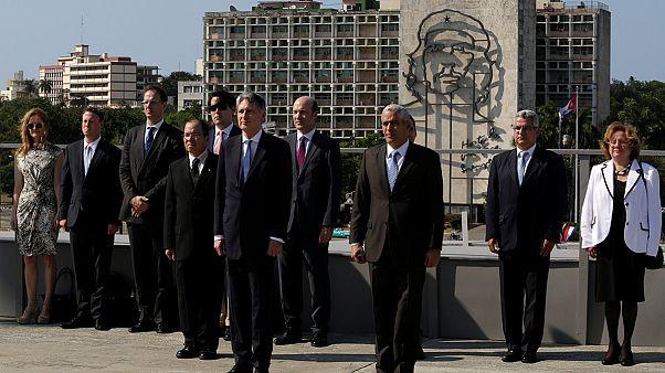 سفر وزیر خارجه بریتانیا به کوبا